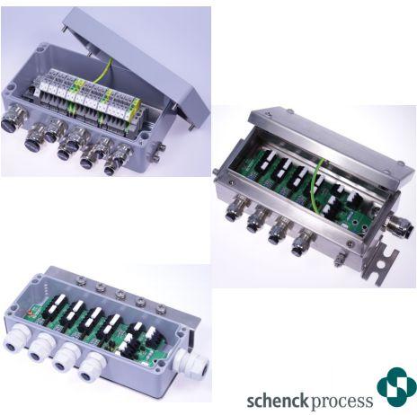 Hộp điện Types VAK and VKK Schenck process