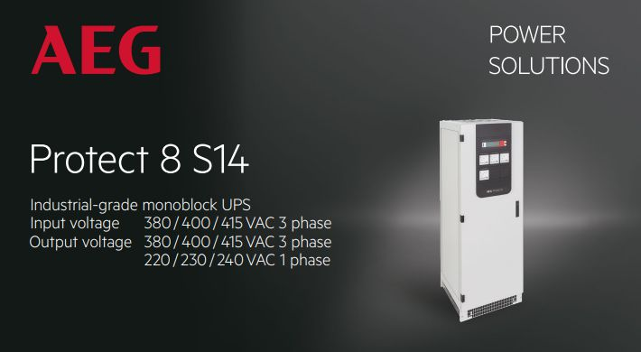 PROTECT 8 S14 Industrial UPS | UPS Công nghiệp PROTECT 8 S14