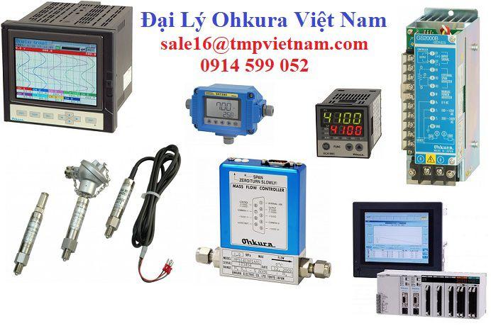 VM8800A Paperless Recorder Ohkura | VM8800A Bộ ghi dữ liệu Ohkura