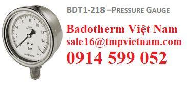 Đồng hồ đo áp BDT1-218 Badotherm