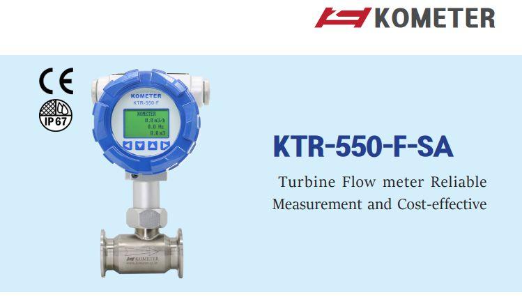 KTR-550-F-SA Đồng hồ đo lưu lượng turbine Kometer | Turbine Flowmeter Kometer KTR-550-F-SA