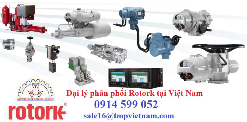 Electric Actuator 400 Series Rotork Việt Nam