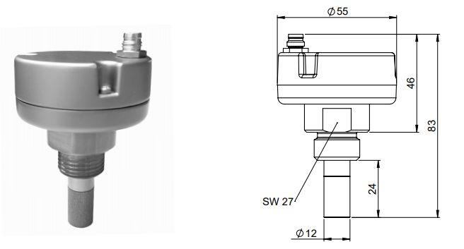 FA 505 Dew point sensor | FA 505 Cảm biến điểm sương CS-Instruments