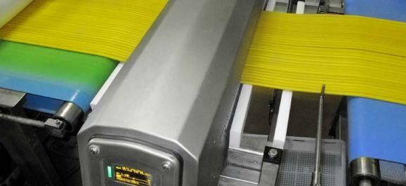 Ứng dụng máy dò kimloại ngành dệt