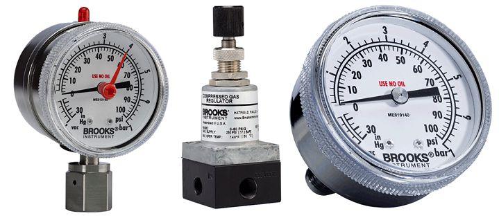 Pressure Gauges Brooks Intrument - Đồng hồ đo lưu lượng Brooks