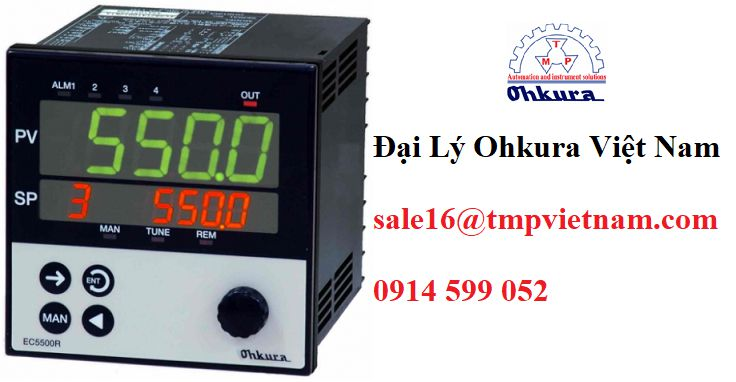 EC5500R Temperature Controllers   EC5500R Bộ điều chỉnh nhiệt độ Ohkura