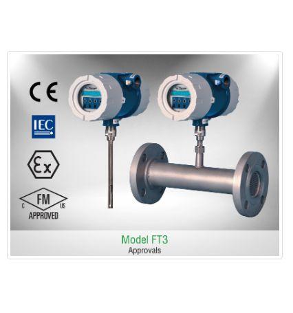 Đồng hồ đo lưu lượng FT3 Fox Thermal   Flow Meter FT3 Fox Thermal