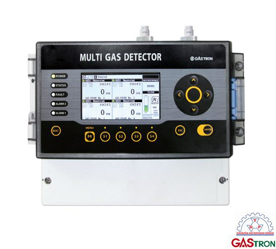 Máy dò đa khí GTM-2000 Gastron   GTM-2000 Mutil Gas Detector Gastron