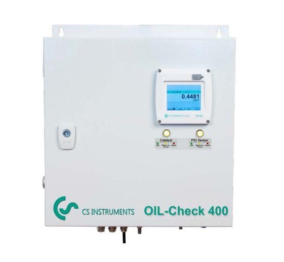 Máy đo hàm lượng dầu dư trong khí nén OIL CHECK 400 CS-Instruments