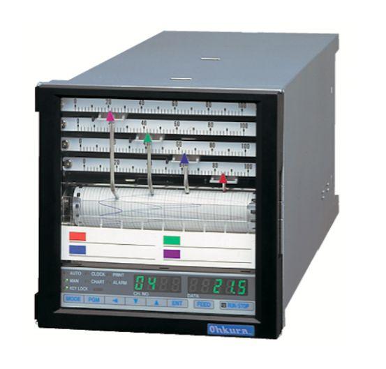 RM10G/RM10N Bộ ghi dữ liệu Ohkura | RM10G/RM10N HYBRID RECORDER OHKURA