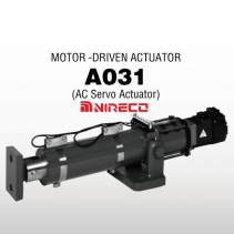A031-80-20 AC Servo Actuator | Bộ động cơ trục vít A031 Nireco