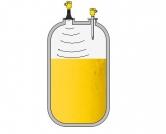 Cảm biến đo mức trong bể hóa chất