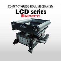 Compact Guide Roll Mechanism LCD series | Đại Lý Nireco Việt Nam