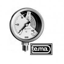 Đồng hồ đo áp suất MC1101 Tema | Pressure Gauge MC1101 Tema