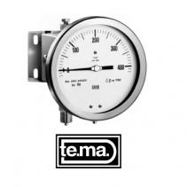 Đồng hồ đo chênh áp MDM1205 Tema | DIFFERENTIAL PRESSURE GAUGE DIAPHRAGM TYPE serie MDM1200