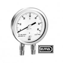 Đồng hồ đo chênh áp Tema series MDC1200 | DIFFERENTIAL PRESSURE GAUGE CAPSULE TYPE series MDC1200