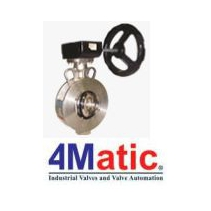 Double Eccentric Butterfly Valve, Van Butterfly 4Matic Việt Nam
