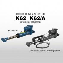 K62-150-20 DC Motor Actuator Nireco | Động cơ và bộ trục vít K62 Series Nireco