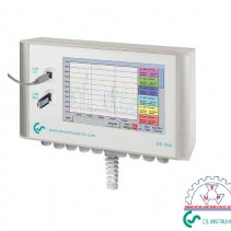 Máy ghi biểu đồ DS 500 CS-Instruments | DS 500 Intelligent chart recorder