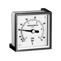 MB400 Đồng hồ đo áp lực Tema