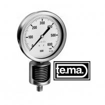 MS1000 Series Đồng hồ đo áp suất Tema | Pressure gauge MS1000 Series Tema
