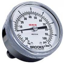 Pressure Gauges Brooks Instrument - Đồng hồ đo lưu lượng Brooks