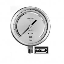 TEST GAUGES Cl. 0,25% | Đồng hồ đo áp suất MB800 Tema