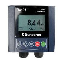 TX105 pH/ORP 4-20mA màn hình điều khiển SENSOREX