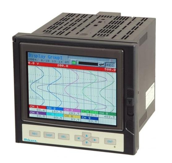 VM6100 Paperless Recorder Ohkura   Máy ghi dữ liệu VM6100 Ohkura