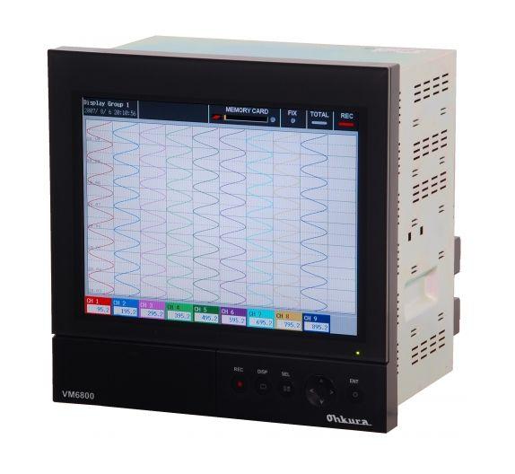 VM6800 Ohkura paperless recorder | Bộ ghi dữ liệu VM6800 Ohkura